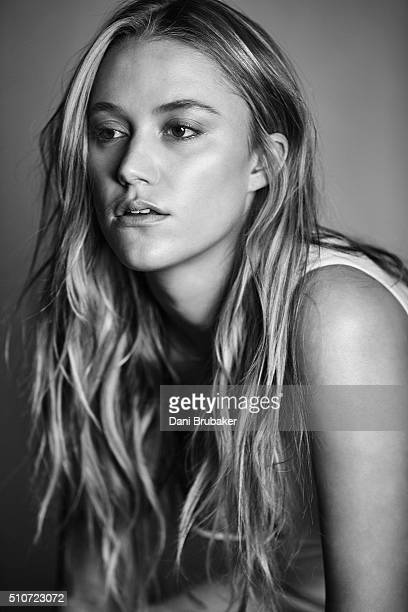 Actress Maika Monroe is photographed for Interview Magazine on January 4 2016 in El Segundo California