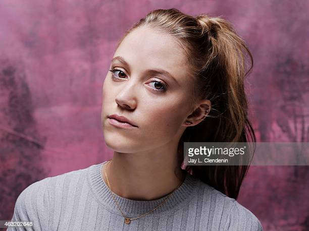 Actress Maika Monroe is photographed for Los Angeles Times on January 24 2015 in Park City Utah PUBLISHED IMAGE CREDIT MUST READ Jay L Clendenin/Los...