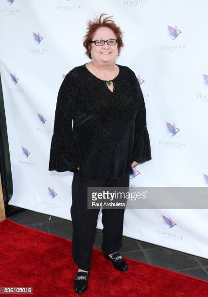 Actress Maile Flanagan attends the ShangriLa global launch and popup store on August 20 2017 in Beverly Hills California