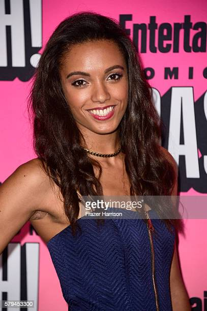 Actress Maisie RichardsonSellers attends Entertainment Weekly's ComicCon Bash held at Float Hard Rock Hotel San Diego on July 23 2016 in San Diego...