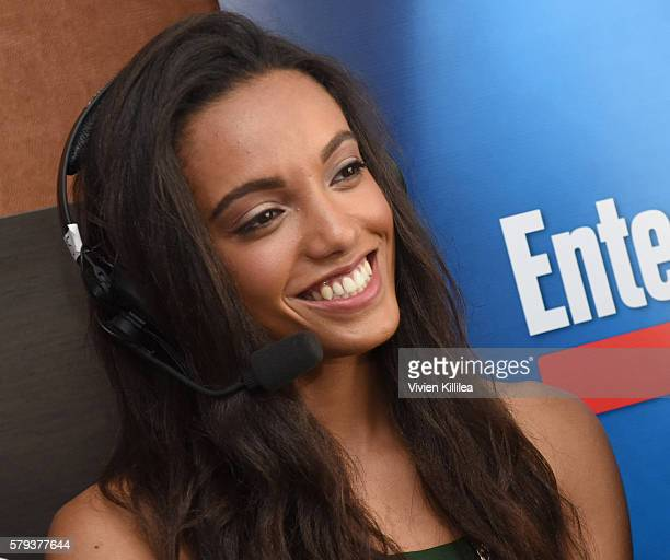 Actress Maisie RichardsonSellers attends SiriusXM's Entertainment Weekly Radio Channel Broadcasts From ComicCon 2016 at Hard Rock Hotel San Diego on...