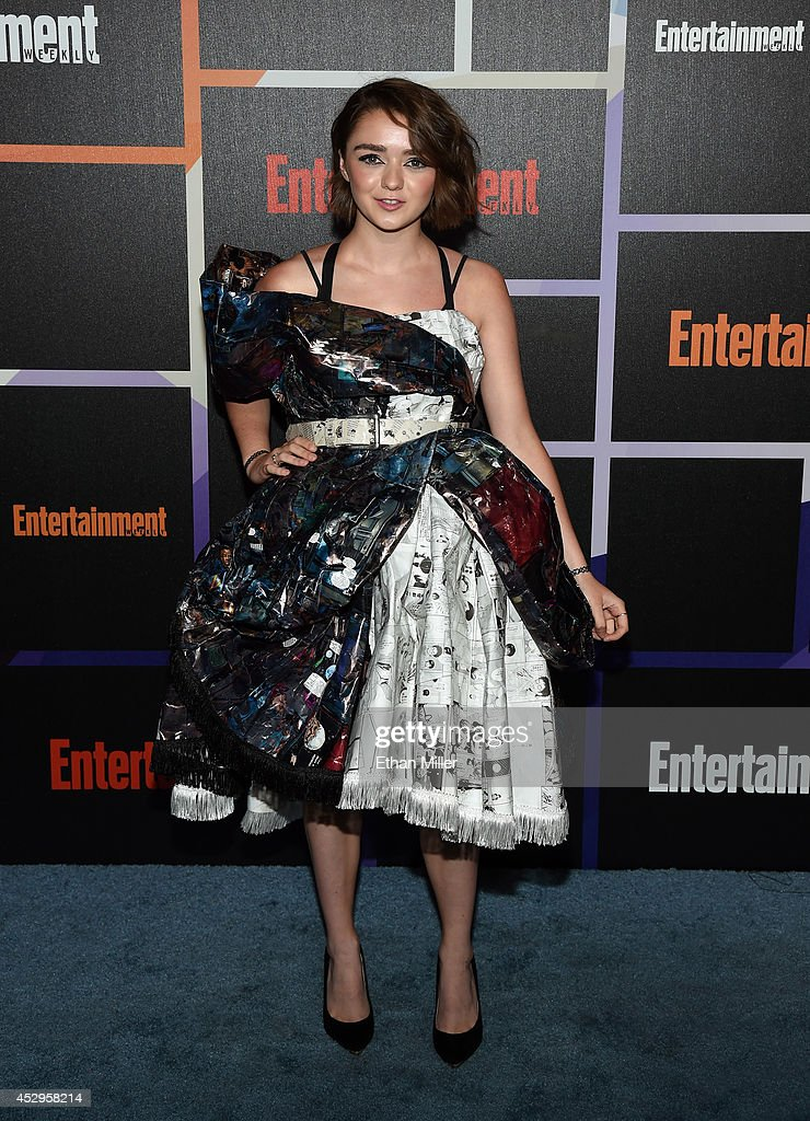 Actress Maisie Williams attends Entertainment Weekly's annual Comic-Con celebration at Float at Hard Rock Hotel San Diego on July 26, 2014 in San Diego, California.