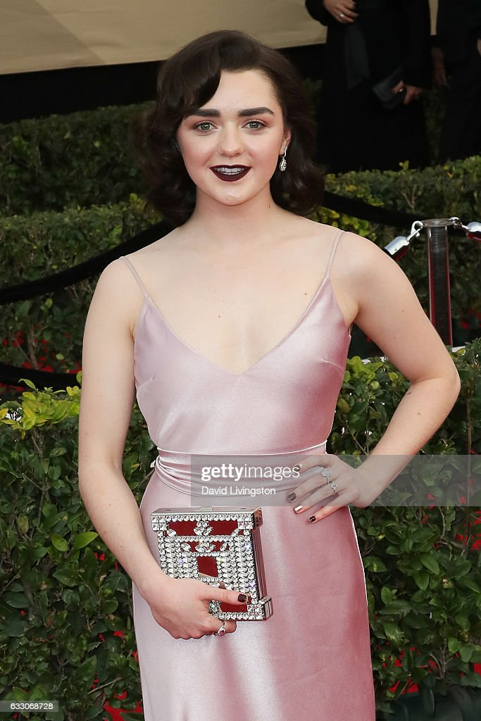 Actress Maisie Williams attends the 23rd Annual Screen Actors Guild Awards at The Shrine Expo Hall on January 29, 2017 in Los Angeles, California.