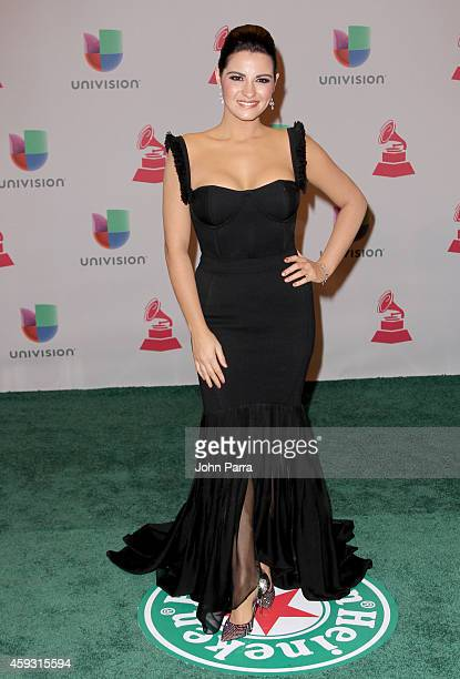 Actress Maite Perroni attends the 15th annual Latin GRAMMY Awards at the MGM Grand Garden Arena on November 20 2014 in Las Vegas Nevada