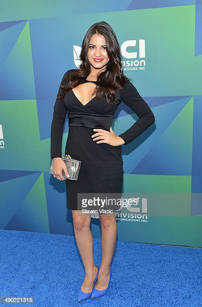 Actress Maite Perroni attends the 2014 Univision Upfront at Gotham Hall on May 13 2014 in New York City