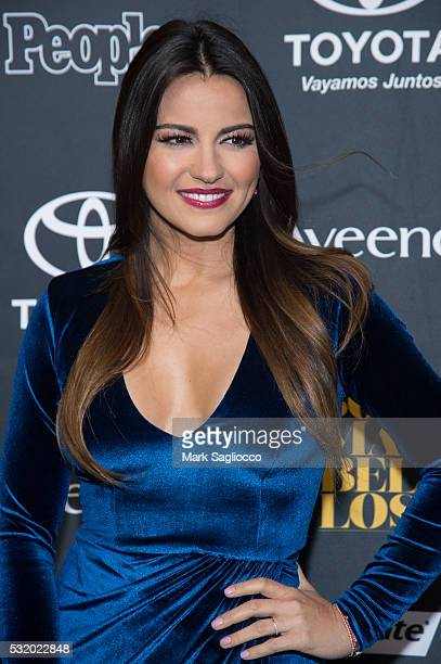Actress Maite Perroni attends the People En Espanol '50 Most Beautiful' at Espace on May 17 2016 in New York City