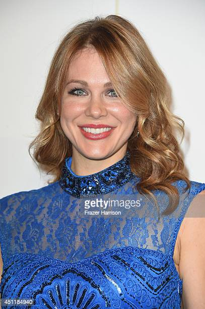 Actress Maitland Ward arrives at the 5th Annual Thirst Gala Hosted By Jennifer Garner In Partnership With Skyo And Relativity's 'Earth To Echo' at...