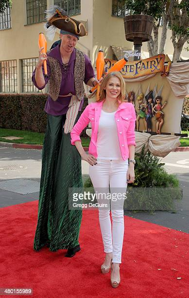 Actress Maitland Ward arrives at the Los Angeles premiere of Disney's 'The Pirate Fairy' at Walt Disney Studio Lot on March 22 2014 in Burbank...