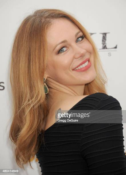 Actress Maitland Ward arrives at the Youth For Human Rights International Celebrity Benefit at Beso on March 24 2014 in Hollywood California