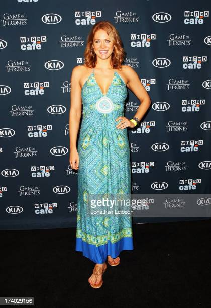 Actress Maitland Ward attends day 2 of the WIRED Cafe at ComicCon on July 19 2013 in San Diego California