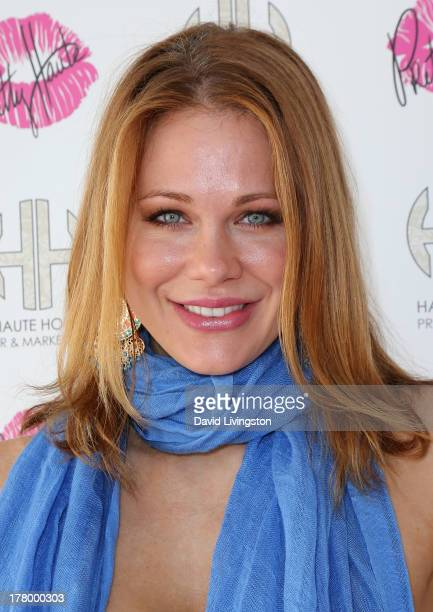Actress Maitland Ward attends the Bellacures Nail Salon celebrity event at the Bellacures Nail Salon on August 26 2013 in Studio City California