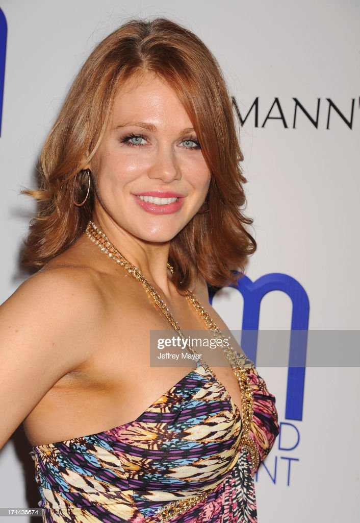 Actress Maitland Ward attends the Friend Movement Anti-Bullying Benefit Concert at the El Rey Theatre on July 1, 2013 in Los Angeles, California.
