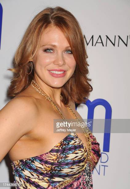 Actress Maitland Ward attends the Friend Movement AntiBullying Benefit Concert at the El Rey Theatre on July 1 2013 in Los Angeles California