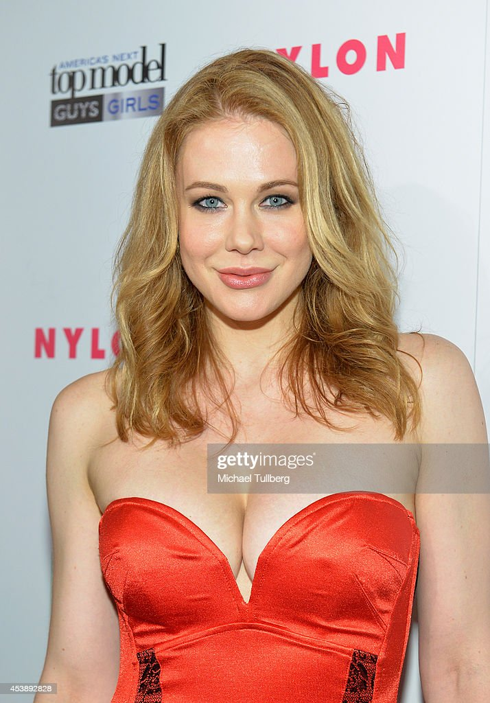 Actress <a gi-track='captionPersonalityLinkClicked' href=/galleries/search?phrase=Maitland+Ward&family=editorial&specificpeople=2850630 ng-click='$event.stopPropagation()'>Maitland Ward</a> attends the premiere party for Cycle 21 of 'America's Next Top Model' presented by NYLON magazine and the LINE messaging app at SupperClub Los Angeles on August 20, 2014 in Los Angeles, California.