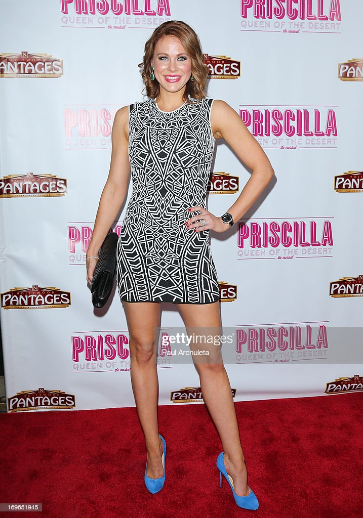 Actress Maitland Ward attends the 'Priscilla Queen Of The Desert' theatre premiere at the Pantages Theatre on May 29, 2013 in Hollywood, California.