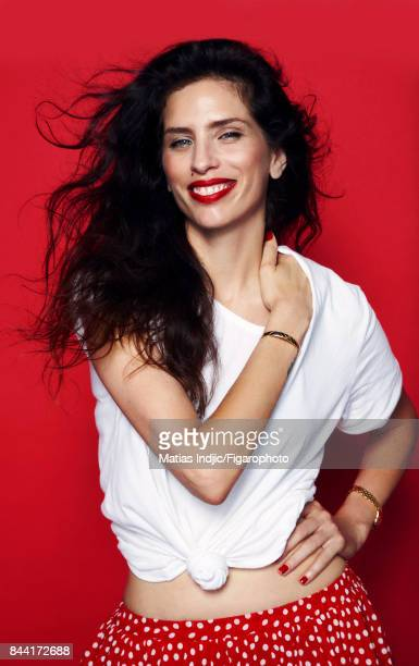 Actress Maiwenn is photographed for Madame Figaro on June 21 2017 in Paris France Tshirt bracelet watch PUBLISHED IMAGE CREDIT MUST READ Matias...