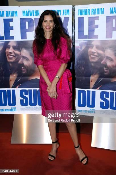 Actress Maiwenn Le Besco attends the 'Le Prix Du Success' Paris Premiere at UGC Les Halles on August 29 2017 in Paris France