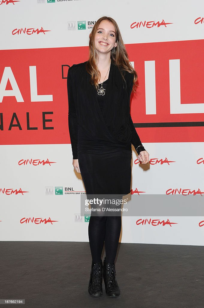 Actress Maja Dybboe attends the 'Sorrow And Joy' Photocall during the 8th Rome Film Festival at the Auditorium Parco Della Musica on November 11, 2013 in Rome, Italy.