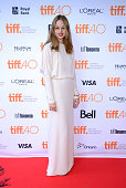 Actress Makenzie Leigh attends the 'James White' photo call during the 2015 Toronto International Film Festival at Ryerson Theatre on September 17...