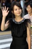 Actress Maki Horikita attends the 23rd Tokyo International Film Festival Opening Ceremony at Roppongi Hills on October 23 2010 in Tokyo Japan TIFF...