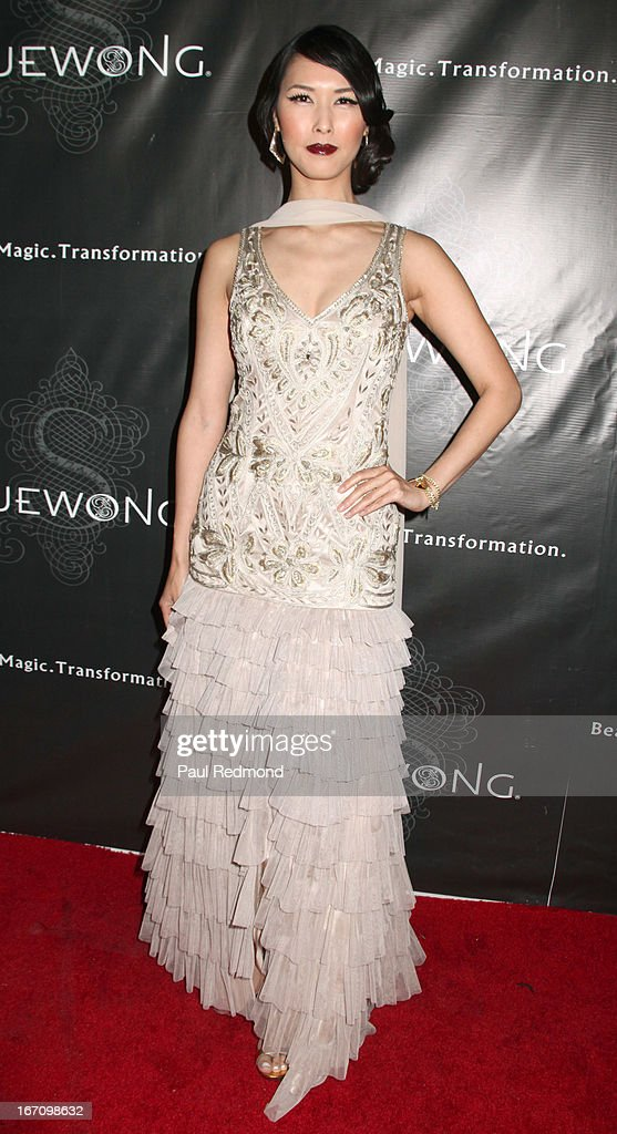 Actress Malana Lea attends Sue Wong's Great Gatsby Fall 2013 Collection on April 19, 2013 in Los Angeles, California.