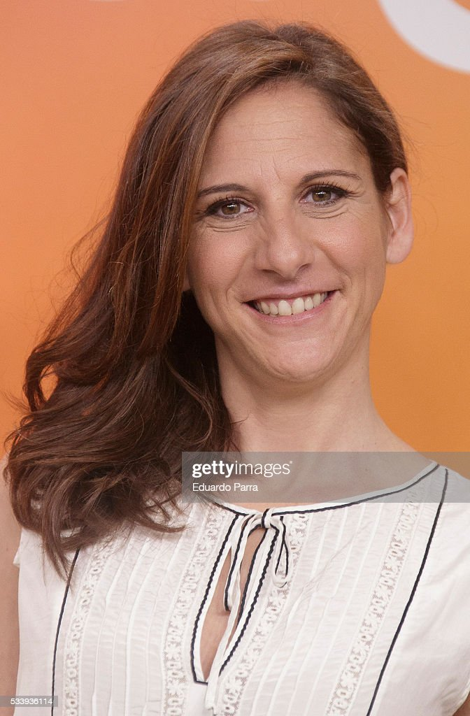 Actress Malena Alterio attends 'El hombre de tu vida' press conference at RTVE studios on May 24, 2016 in Madrid, Spain.