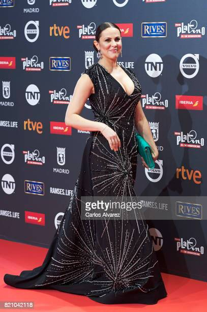Actress Malena Gonzalez attends the Platino Awards 2017 photocall at the La Caja Magica on July 22 2017 in Madrid Spain
