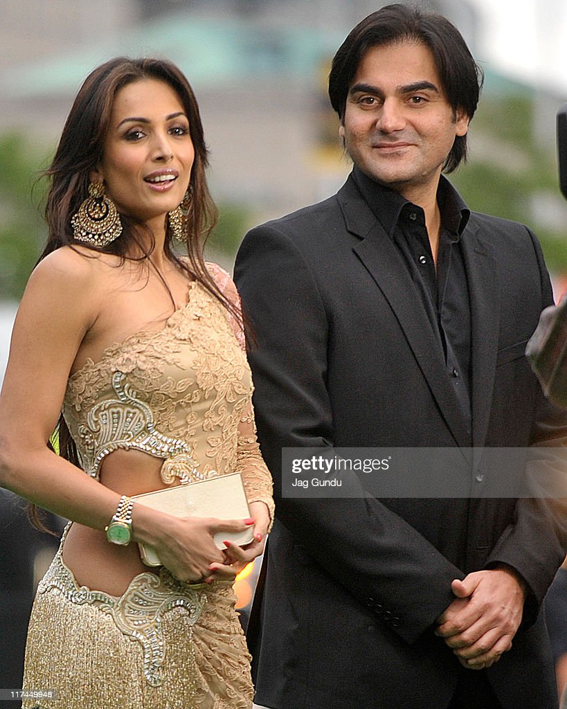 Actress Malika Arora Khan and Arbaaz Khan attend the IIFA Awards green Carpet held at the Rogers Centre on June 25, 2011 in Toronto, Canada.
