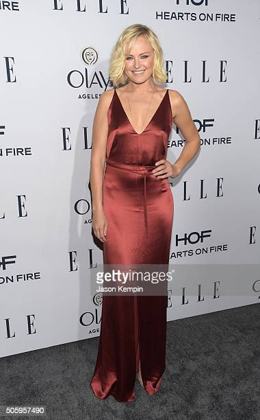 Actress Malin Ackerman attends ELLE's 6th Annual Women In Television Dinner at Sunset Tower Hotel on January 20 2016 in West Hollywood California