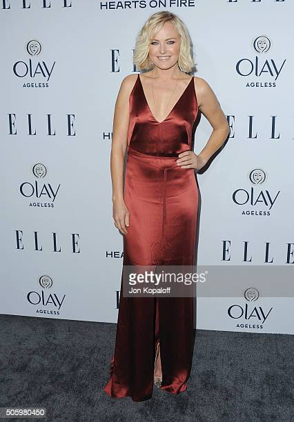 Actress Malin Akerman arrives at ELLE's 6th Annual Women In Television Dinner at Sunset Tower Hotel on January 20 2016 in West Hollywood California