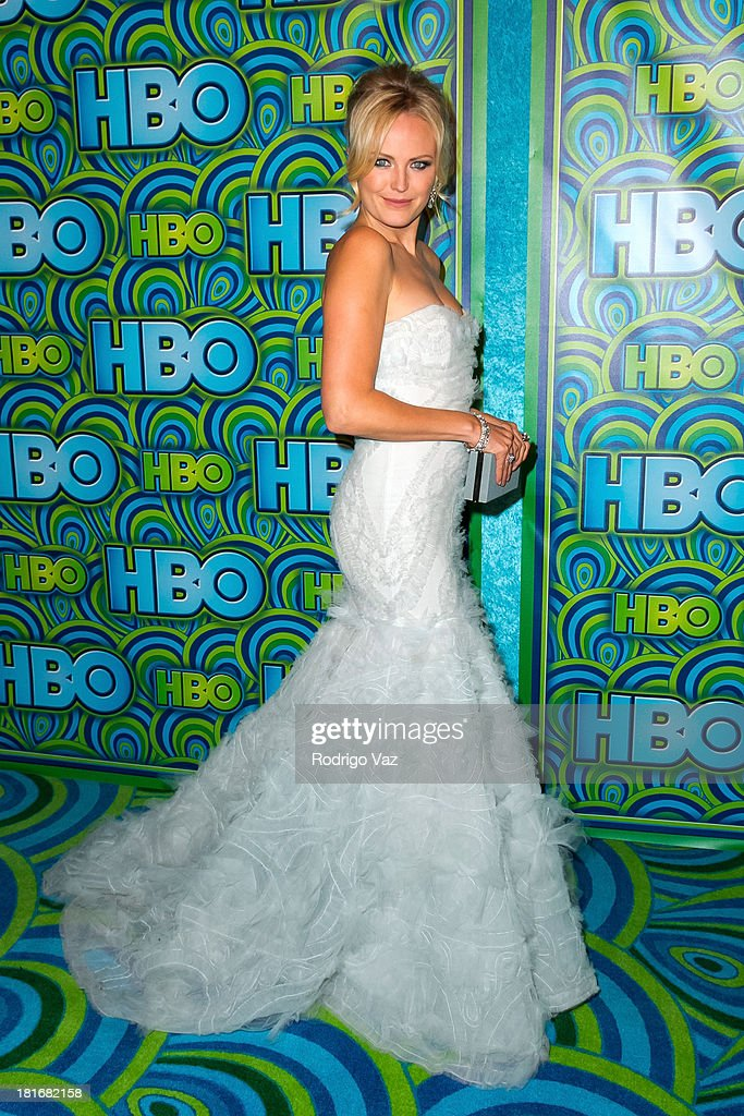 Actress <a gi-track='captionPersonalityLinkClicked' href=/galleries/search?phrase=Malin+Akerman&family=editorial&specificpeople=598245 ng-click='$event.stopPropagation()'>Malin Akerman</a> arrives at HBO's Annual Primetime Emmy Awards Post Award Reception at The Plaza at the Pacific Design Center on September 22, 2013 in Los Angeles, California.
