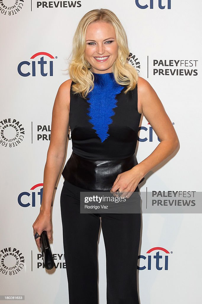 Actress <a gi-track='captionPersonalityLinkClicked' href=/galleries/search?phrase=Malin+Akerman&family=editorial&specificpeople=598245 ng-click='$event.stopPropagation()'>Malin Akerman</a> arrives at PaleyFestPreviews Fall TV ABC's 'Trophy Wife' And 'Back In The Game' at The Paley Center for Media on September 10, 2013 in Beverly Hills, California.