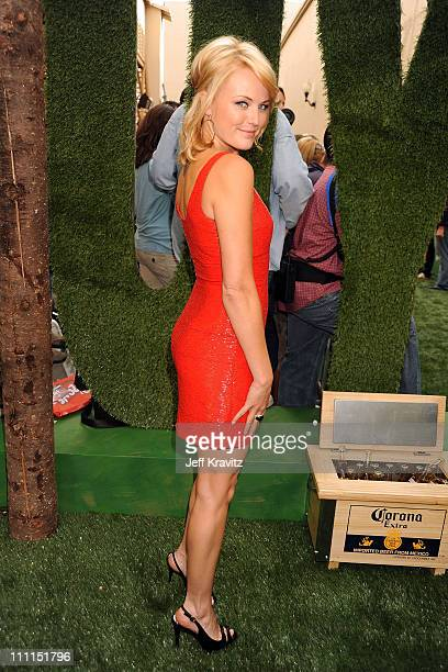 Actress Malin Akerman arrives at Spike TV's 2009 'Guys Choice Awards' held at the Sony Studios on May 30 2009 in Los Angeles California