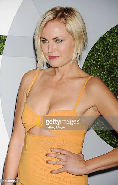 Actress Malin Akerman arrives at the 2014 GQ Men Of The Year Party at Chateau Marmont on December 4 2014 in Los Angeles California