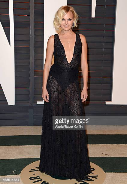 Actress Malin Akerman arrives at the 2015 Vanity Fair Oscar Party Hosted By Graydon Carter at Wallis Annenberg Center for the Performing Arts on...