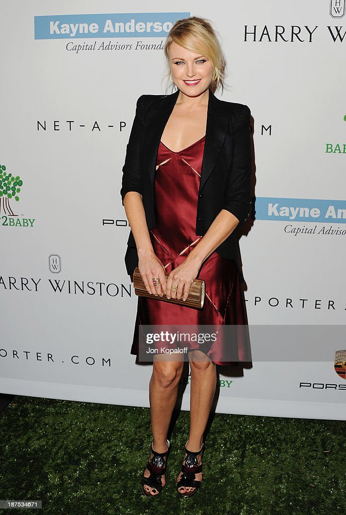 Actress <a gi-track='captionPersonalityLinkClicked' href=/galleries/search?phrase=Malin+Akerman&family=editorial&specificpeople=598245 ng-click='$event.stopPropagation()'>Malin Akerman</a> arrives at the 2nd Annual Baby2Baby Gala at The Book Bindery on November 9, 2013 in Culver City, California.