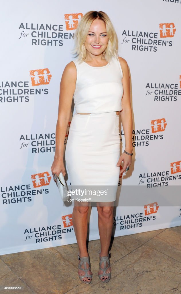 Actress <a gi-track='captionPersonalityLinkClicked' href=/galleries/search?phrase=Malin+Akerman&family=editorial&specificpeople=598245 ng-click='$event.stopPropagation()'>Malin Akerman</a> arrives at The Alliance For Children's Rights 22nd Annual Dinner at The Beverly Hilton Hotel on April 7, 2014 in Beverly Hills, California.