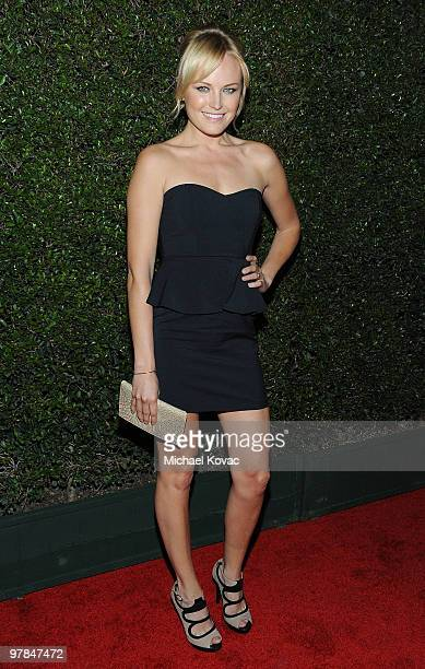 Actress Malin Akerman arrives at the Ferrari 458 Italia Brings Funds for Haiti Relief event at Fleur de Lys on March 18 2010 in Los Angeles California
