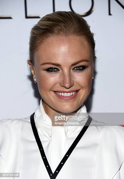 Actress Malin Akerman arrives at the For Your Consideration Screening and Panel for Showtime's 'Billions' at The WGA Theater on April 26 2016 in...