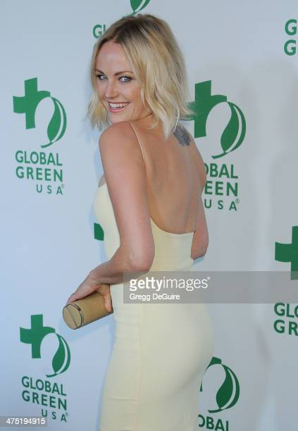 Actress Malin Akerman arrives at the Global Green USA's 11th Annual PreOscar Party at Avalon on February 26 2014 in Hollywood California