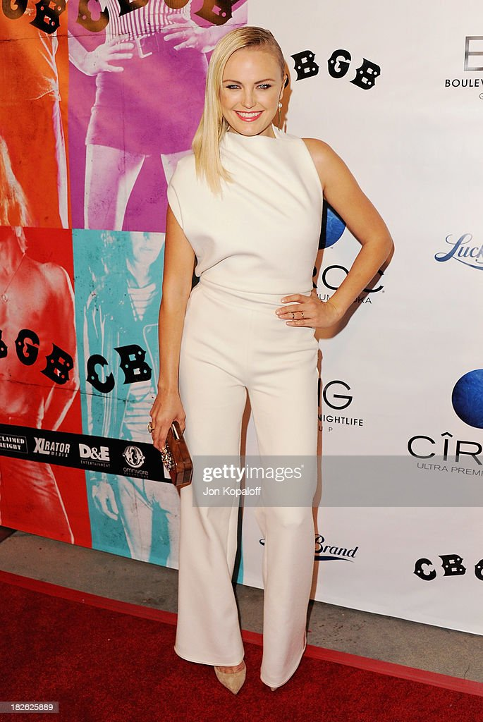 Actress <a gi-track='captionPersonalityLinkClicked' href=/galleries/search?phrase=Malin+Akerman&family=editorial&specificpeople=598245 ng-click='$event.stopPropagation()'>Malin Akerman</a> arrives at the Los Angeles Premiere 'CBGB' at ArcLight Cinemas on October 1, 2013 in Hollywood, California.
