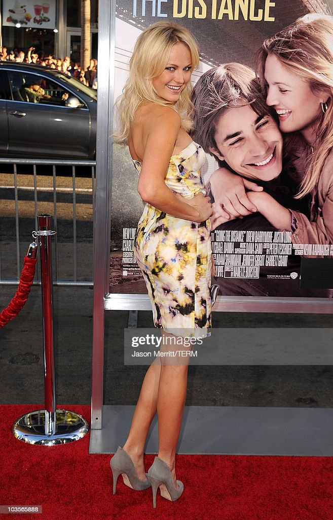 Actress Malin Akerman arrives at the premiere of Warner Bros. 'Going The Distance' held at Grauman's Chinese Theatre on August 23, 2010 in Los Angeles, California.