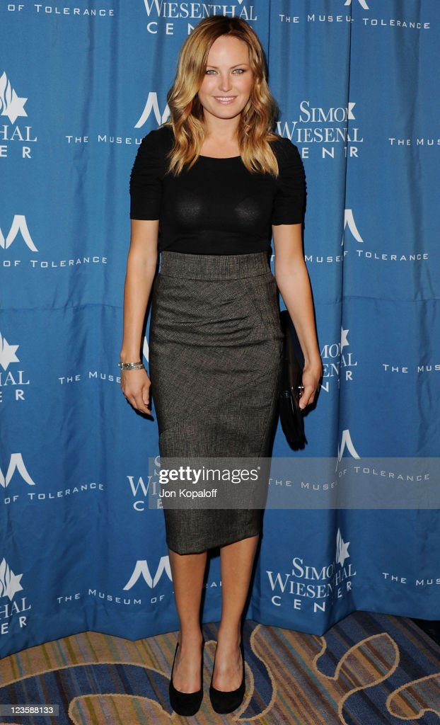 Actress Malin Akerman arrives at the Simon Wiesenthal Center Annual National Tribute Dinner Honoring Tom Cruise at the Beverly Wilshire Four Seasons Hotel on May 5, 2011 in Beverly Hills, California.