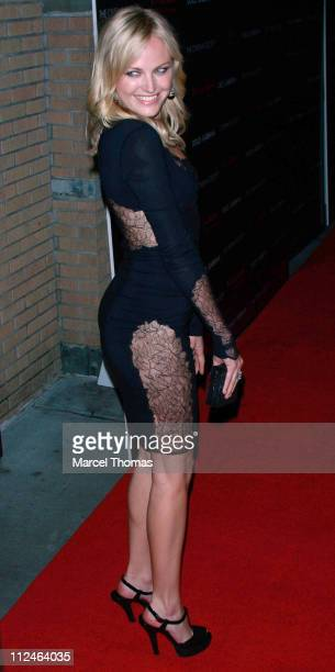 Actress Malin Akerman attends a screening of the movie 'Filth and Wisdom' at the Sunshine Cinemas on October 13 2008 in New York City New York