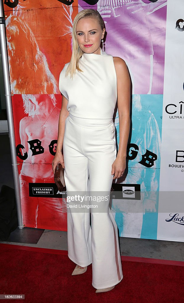Actress <a gi-track='captionPersonalityLinkClicked' href=/galleries/search?phrase=Malin+Akerman&family=editorial&specificpeople=598245 ng-click='$event.stopPropagation()'>Malin Akerman</a> attends a screening of Xlrator Media's 'CBGB' at ArcLight Cinemas on October 1, 2013 in Hollywood, California.