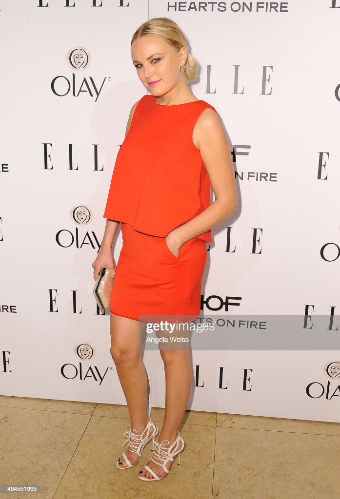 Actress <a gi-track='captionPersonalityLinkClicked' href=/galleries/search?phrase=Malin+Akerman&family=editorial&specificpeople=598245 ng-click='$event.stopPropagation()'>Malin Akerman</a> attends ELLE's Annual Women in Television Celebration at Sunset Tower on January 22, 2014 in West Hollywood, California.