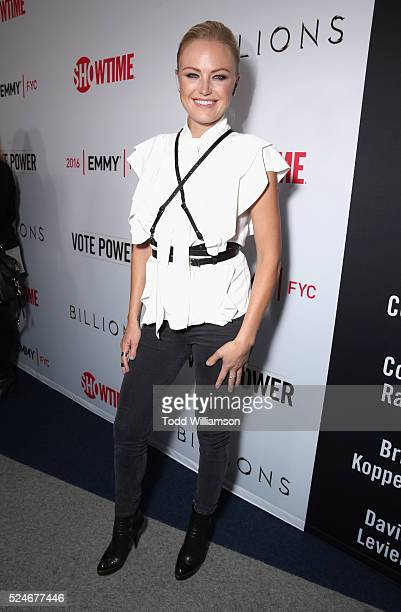 Actress Malin Akerman attends For Your Consideration Screening and Panel for Showtime's 'Billions' at The WGA Theater on April 26 2016 in Beverly...
