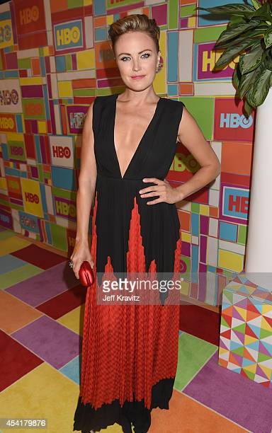Actress Malin Akerman attends HBO's Official 2014 Emmy After Party at The Plaza at the Pacific Design Center on August 25 2014 in Los Angeles...