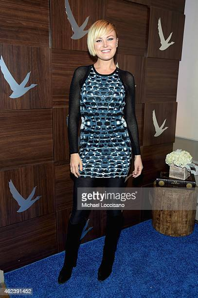 Actress Malin Akerman attends 'I'll See You In My Dreams' cast party with Refinery29 at the GREY GOOSE Blue Door during Sundance on January 27 2015...