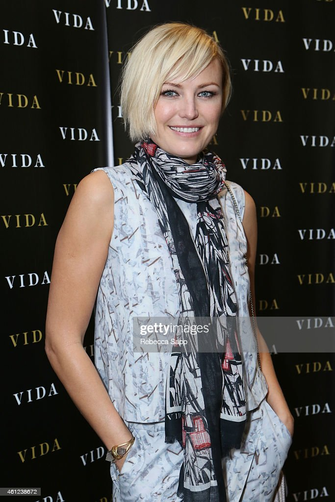 Actress Malin Akerman attends Kari Feinstein's Pre-Golden Globes Style Lounge at the Andaz West Hollywood on January 9, 2015 in West Hollywood, California.